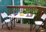 테이블 백색 옥외에게 HDPE 4FT 접히기