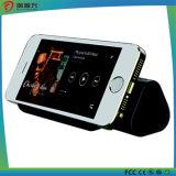 고품질 플러스 iPhone 6/6s를 위한 6600mAh 힘 은행 Bluetooth 1개의 스피커에 대하여 3