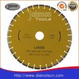 450mm Laser 절단 잎, 다이아몬드는 구체적인 절단을%s 보았다
