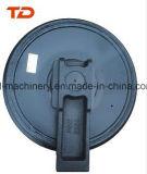 Front Idler for Excavator Undercarriage Parts Doosan Dx55, Dx140, Dx180, Dx225 para Construção Série OEM