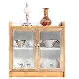 حديثة ميلامين مكتب مبرد خزانة خشبيّة مع 2 باب