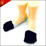 Las mujeres Toeless calcetines finos estilo simple desgaste de interior
