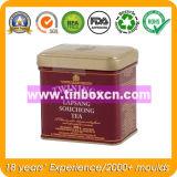 Scatola di il tè dello stagno di rettangolo di imballaggio per alimenti