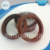 V selos do anel de Packingseals NBR/FKM Viton V da compressão da forma