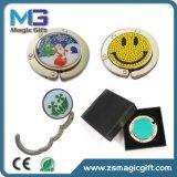 女性ロゴのFoldable袋のハンガーのための高品質ミラーの財布