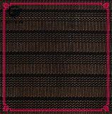 Commercio all'ingrosso del tessuto del merletto della maglia di alta qualità