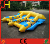 Barco inflable de los pescados de la mosca del barco con la persona 6