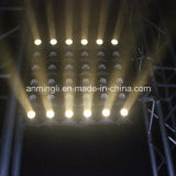 Éclairage chaud de disco de panneau d'oeillère de matrice du blanc DEL