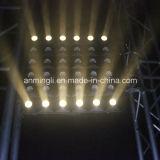 Warme Matrix-Blinder-Panel-Disco-Beleuchtung des Weiß-LED
