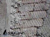 Fio sextavado de Sailin para a construção do estuque