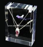 Support de bijoux en acrylique élégant personnalisé