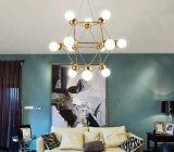 Glaskugel-runde hängende Lampe moderne Creatvie hängende Beleuchtung