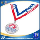 排気切替器が付いている昇進の柔らかいエナメルメダルをカスタム設計しなさい