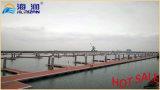 La mayoría del dique flotante galvanizado del marco de acero de la INMERSIÓN caliente de la venta