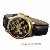 2017 Knap Automatisch Horloge, het Echte Horloge Fs441 van het Leer