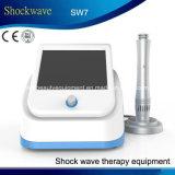 Terapia portable de la onda expansiva del dispositivo de Eswt para el masaje de la carrocería