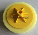 Полируя губка с подкладочной плитой (желтый цвет)