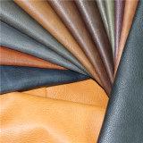 Cuero sintetizado internacional de la forma de la PU de los estándares ambientales para la fabricación de los zapatos
