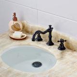3개의 구멍 금관 악기 갑판에 의하여 거치되는 목욕 물동이 수채 꼭지