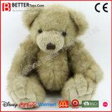 柔らかい子供または子供のためのプラシ天によって結合されるテディー・ベアのおもちゃ