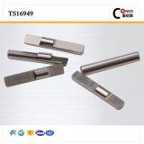 CNC подвергая вал механической обработке низкоуглеродистой стали