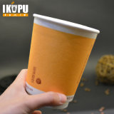 Kundenspezifischer heißer Wegwerfkaffee-Papiercup