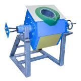 Fornalha de indução pequena da freqüência média da capacidade IGBT para o alumínio de cobre de aço de derretimento do ferro