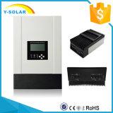 Auto van het Controlemechanisme van de Last van MPPT 50A 48V/36V/24V/12V de Zonne voor Maximum Facultatieve die 150V/100VDC met Heatsink wordt ingevoerd die RS485 Communition sch-50A koelen
