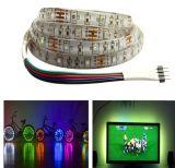 Luz de la Navidad posterior impermeable al aire libre flexible de la tira TV de SMD LED