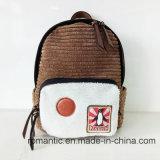 De nieuwe Manier van de Aankomst Dame Canvas Fur Backpack (nmdk-052901)