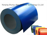 Modificado para requisitos particulares coloreado prepintar la bobina de acero galvanizada para la hoja del material para techos