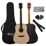 Guitarra acústica contínua Sg02sr-41 da parte superior 41-Inch Dreadnaught de Aiersi