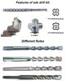 Bits de broca os mais baratos personalizados do martelo do SDS do diamante