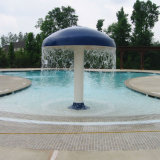 Ducha al aire libre de la piscina de la seta de acrílico del agua