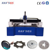 Machine de découpage de laser de fibre d'approvisionnement d'usine pour le matériel métallurgique, ascenseurs