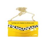 Бумажник муфты женщин способа с конструкцией PU леопарда