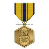上販売法2017の3D高品質リボンが付いているカスタム賞メダル