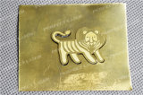 Macchina per incidere del laser della fibra dell'argento e dell'oro per la penna