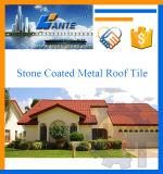 高品質の石の上塗を施してある金属の屋根瓦