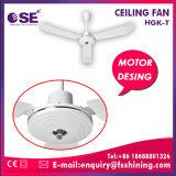 56 polegadas ventilador de teto branco do metal de uma eletrônica de 220 volts/a de alumínio lâmina (HgK-T)