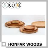 Плита плодоовощ твердой древесины вишни деревянная круглая