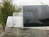 Кронштейны тента балкона сопротивления дождя ветра DIY легкие собранные (1200-B)