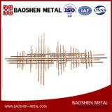 Самомоднейшая линия высокое качество искусствоа декора стены металла