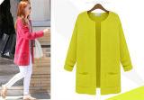 Пальто женщин конструкции таможни OEM куртка свитера карандаша самого последнего вскользь шикарная