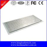 同じ高さのキーの金属の産業キーボード、使用できるカスタムレイアウト