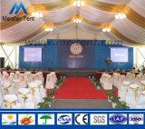 Großes im Freienpartei-Hochzeits-Festzelt-Zelt mit Glaswand