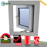 Винил PVC зоны урагана Impact-Resistant отбрасывает вне Casement Windows