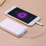batería de la potencia 8000mAh con el adaptador del iPhone y la memoria 16g