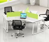 Foshan-Fabrik-hölzerne Arbeitsplatz-Büro-Möbel-Trennwand (HX-NCD306)