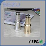 Chargeur gauche de vente chaud universel de véhicule de l'aluminium 2 USB avec la sortie 3.1A